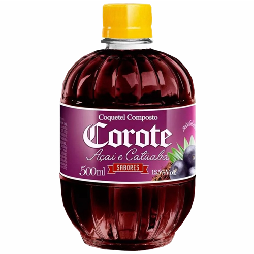 COQUETEL COMP COROTE ACAI/CATUABA 500 ML