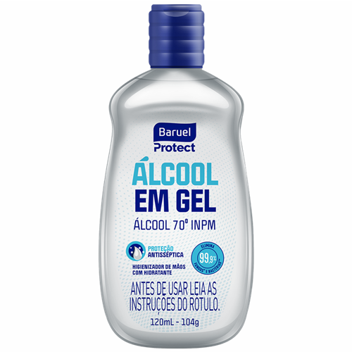 ALCOOL GEL BARUEL 120ML