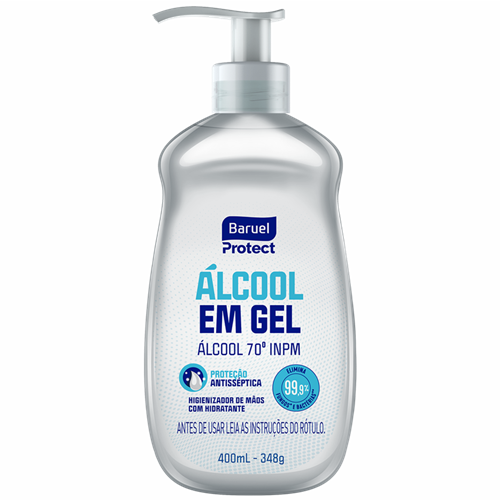 ALCOOL GEL BARUEL 400ML