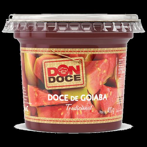 DOCE DE GOIABA DONDOCE 400G