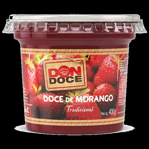 DOCE DE MORANGO DONDOCE 400G