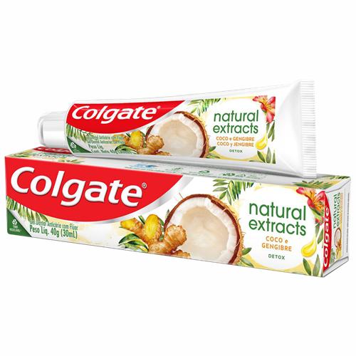 CR DENTAL COLGATE NAT EXTRACTS DETOX 40G
