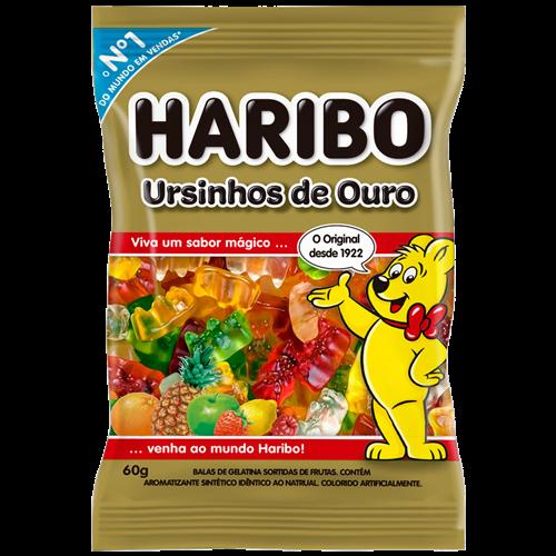 BALA DE GELATINA HARIBO URSINHO 60G