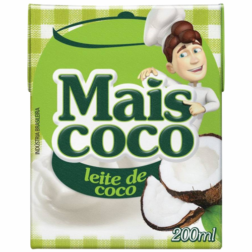 LEITE DE COCO MAIS COCO TP 200ML