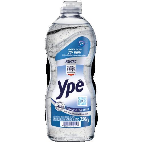 ALCOOL GEL ANTISSEPTICO YPE 350G