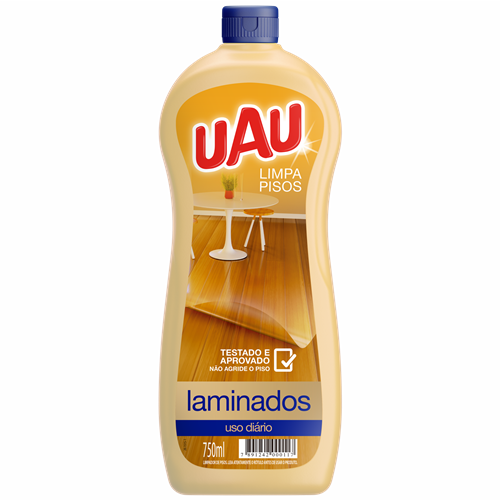 LIMPA PISOS UAU LAMINADO 750ML