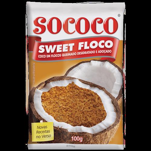 SWEET FLOCO QUEIMADO SOCOCO 100G