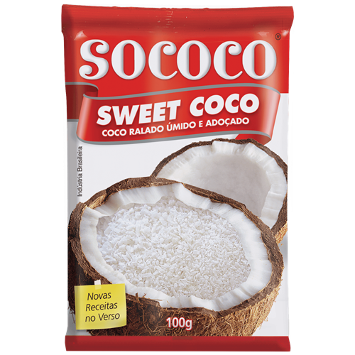 SWEET COCO RALADO SOCOCO 100G