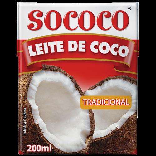 LEITE DE COCO SOCOCO TP 200ML
