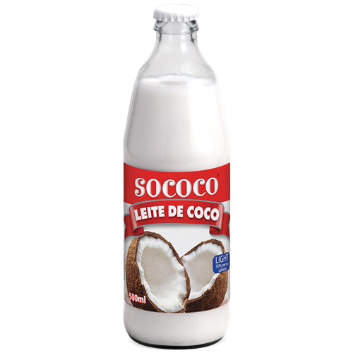 LEITE DE COCO SOCOCO LIGHT VD 500ML