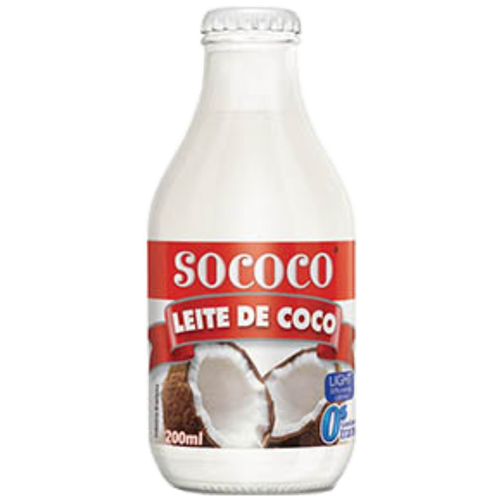 LEITE DE COCO SOCOCO LIGHT VD 200ML
