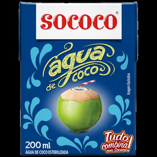 AGUA DE COCO SOCOCO TP 200ML