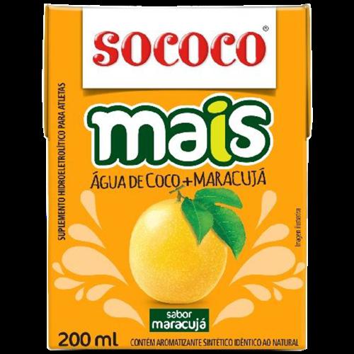 AGUA DE COCO MAIS MARACUJA TP 200ML