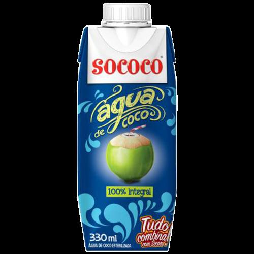 AGUA DE COCO SOCOCO TP 330ML