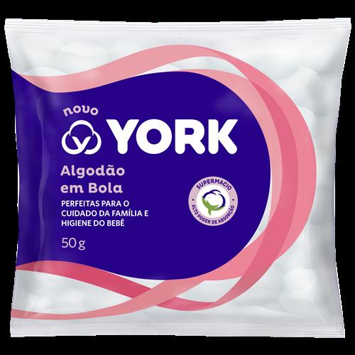 ALGODAO YORK BOLA 50G