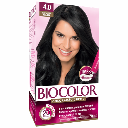 BIOCOLOR KIT CASTANHO MEDIO 4.0